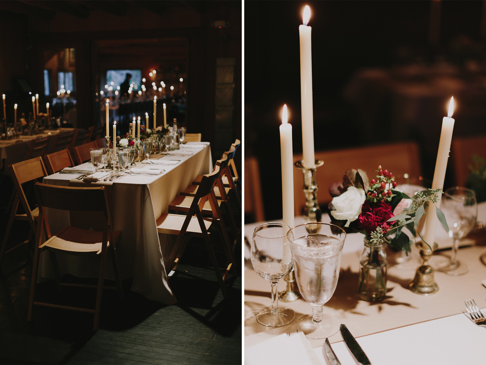 candle-wedding-reception