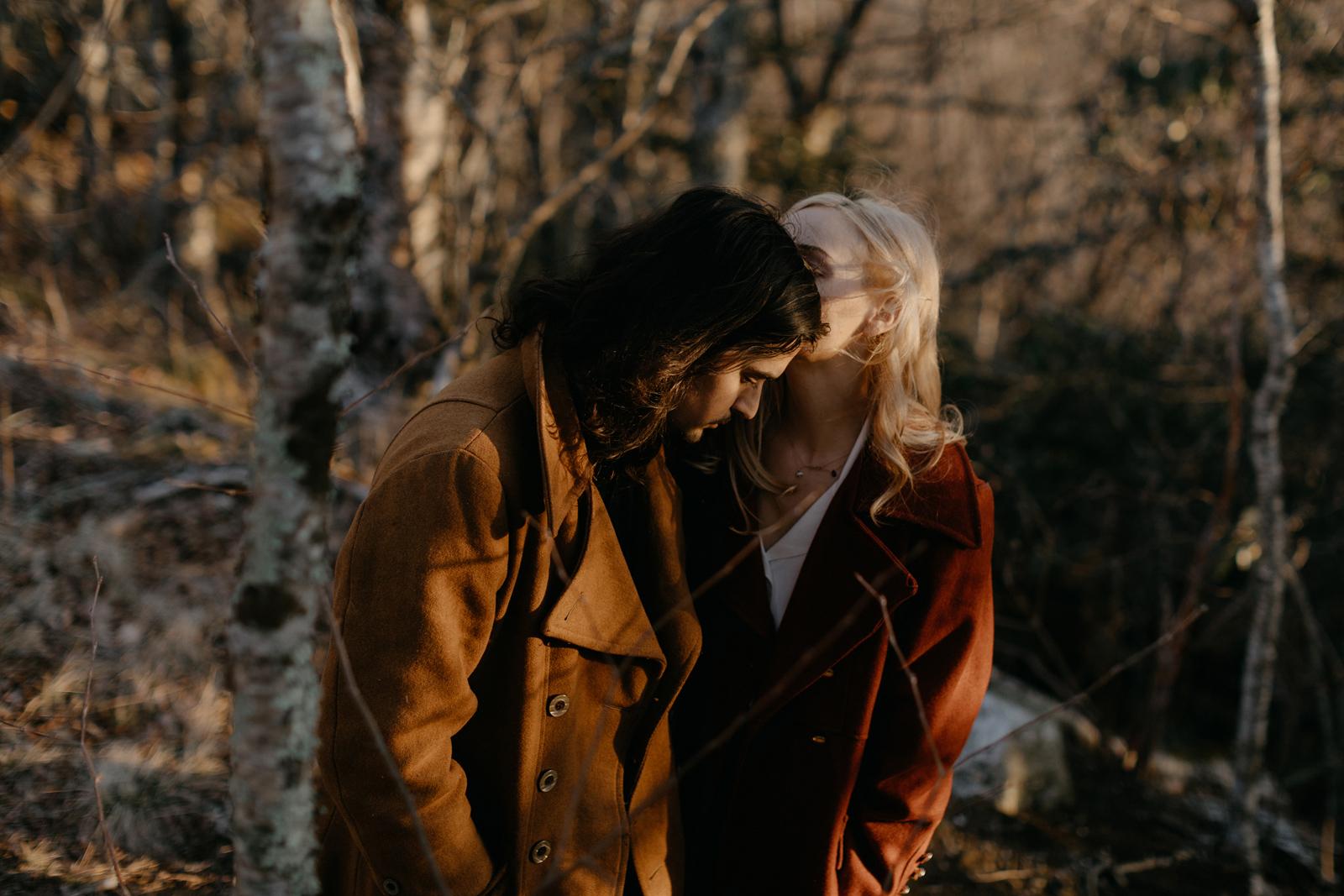 cinematic couples portraits