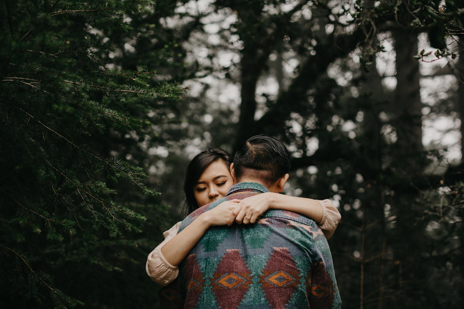 mount tamalpais engagement