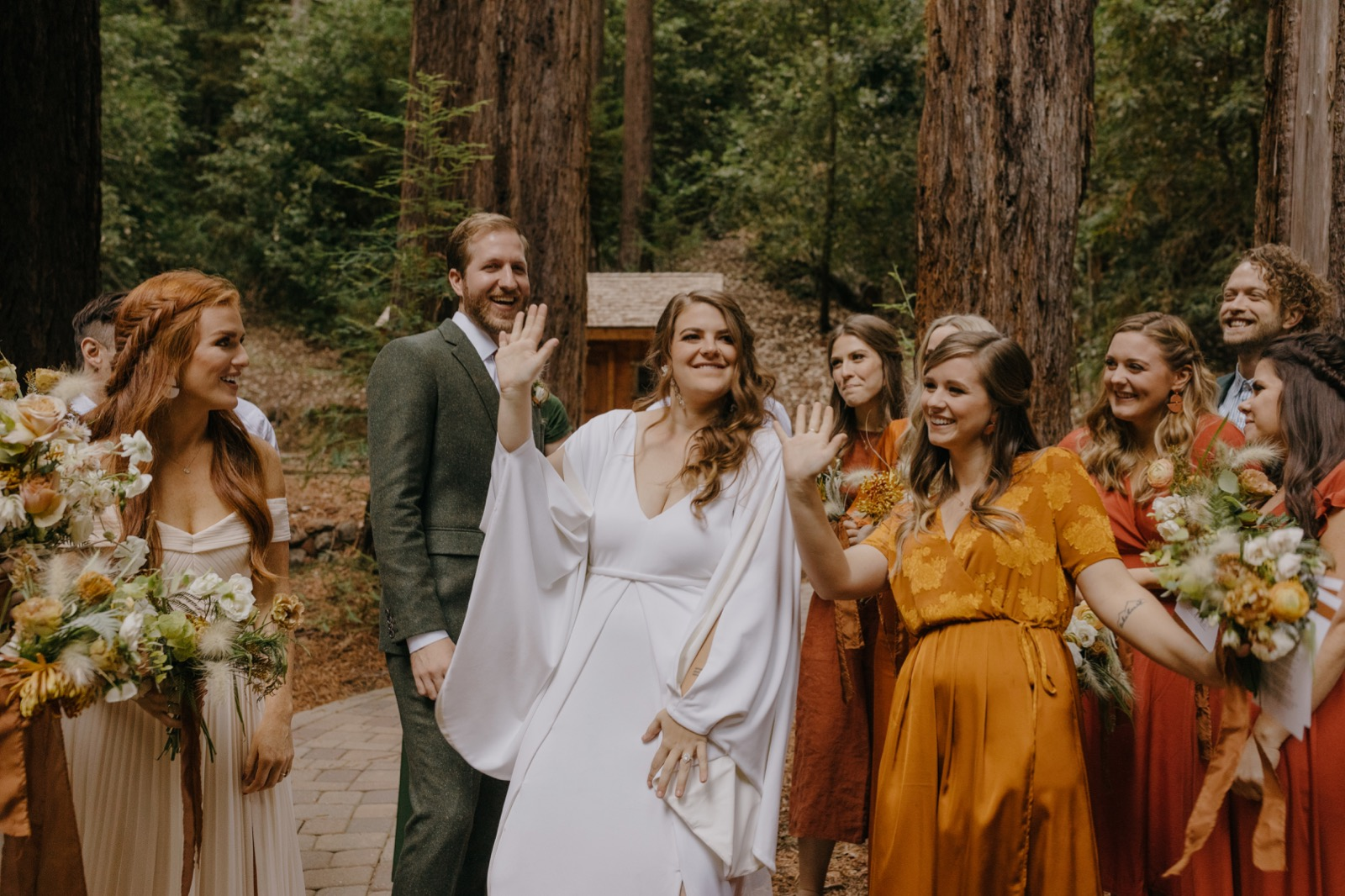 088_E&J 04244_the-waterfall-lodge_forest_wedding_ben-lomond_intimate