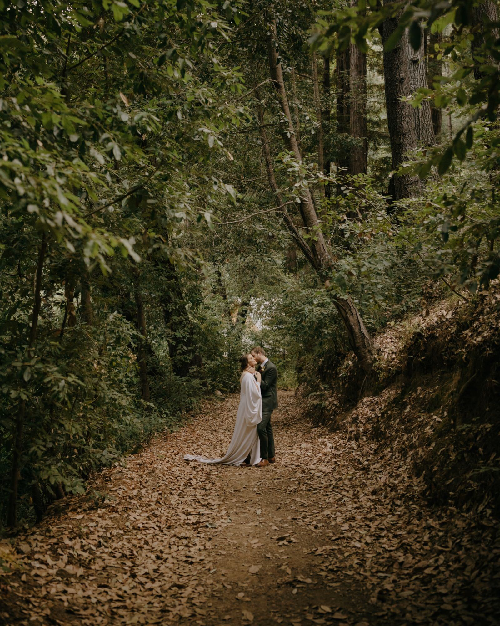 098_E&J 04493_the-waterfall-lodge_forest_wedding_ben-lomond_intimate