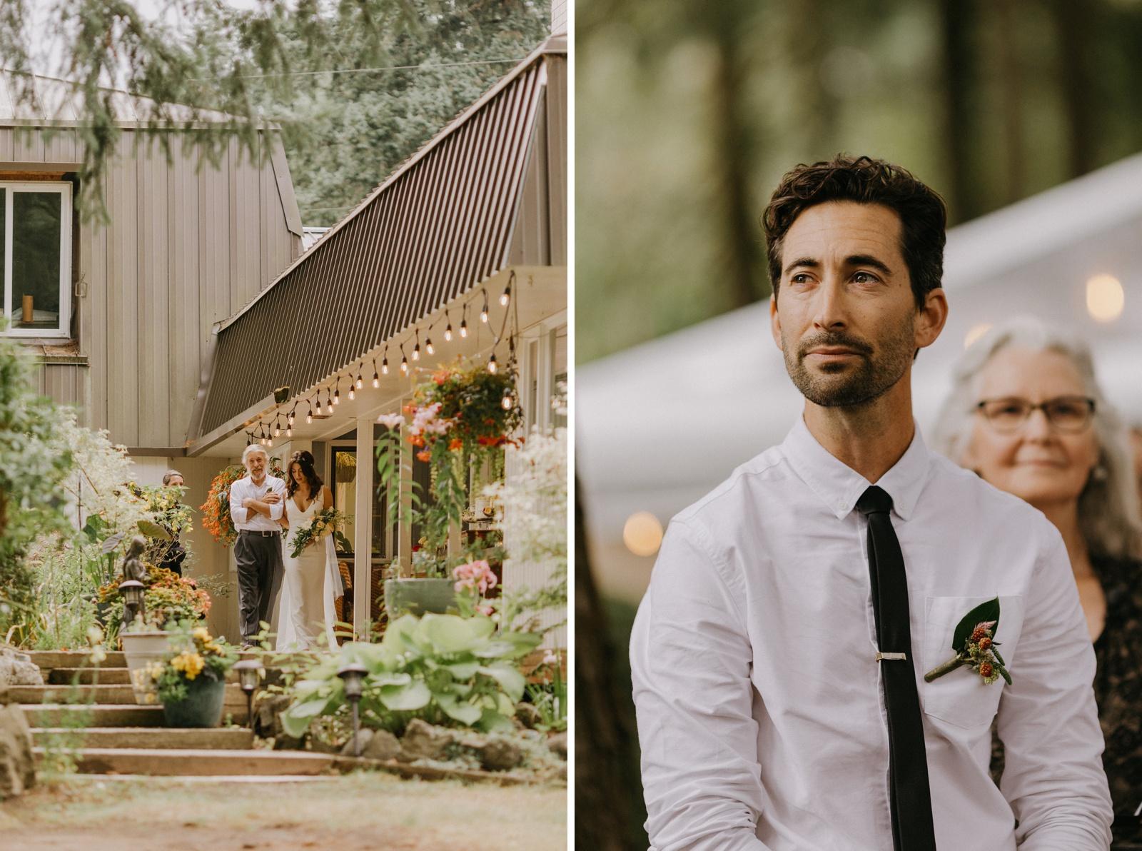Matthew and Autumn Intimate Outdoor Backyard Wedding_0108