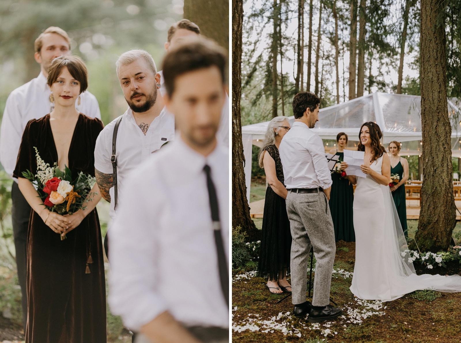 Matthew and Autumn Intimate Outdoor Backyard Wedding_0145