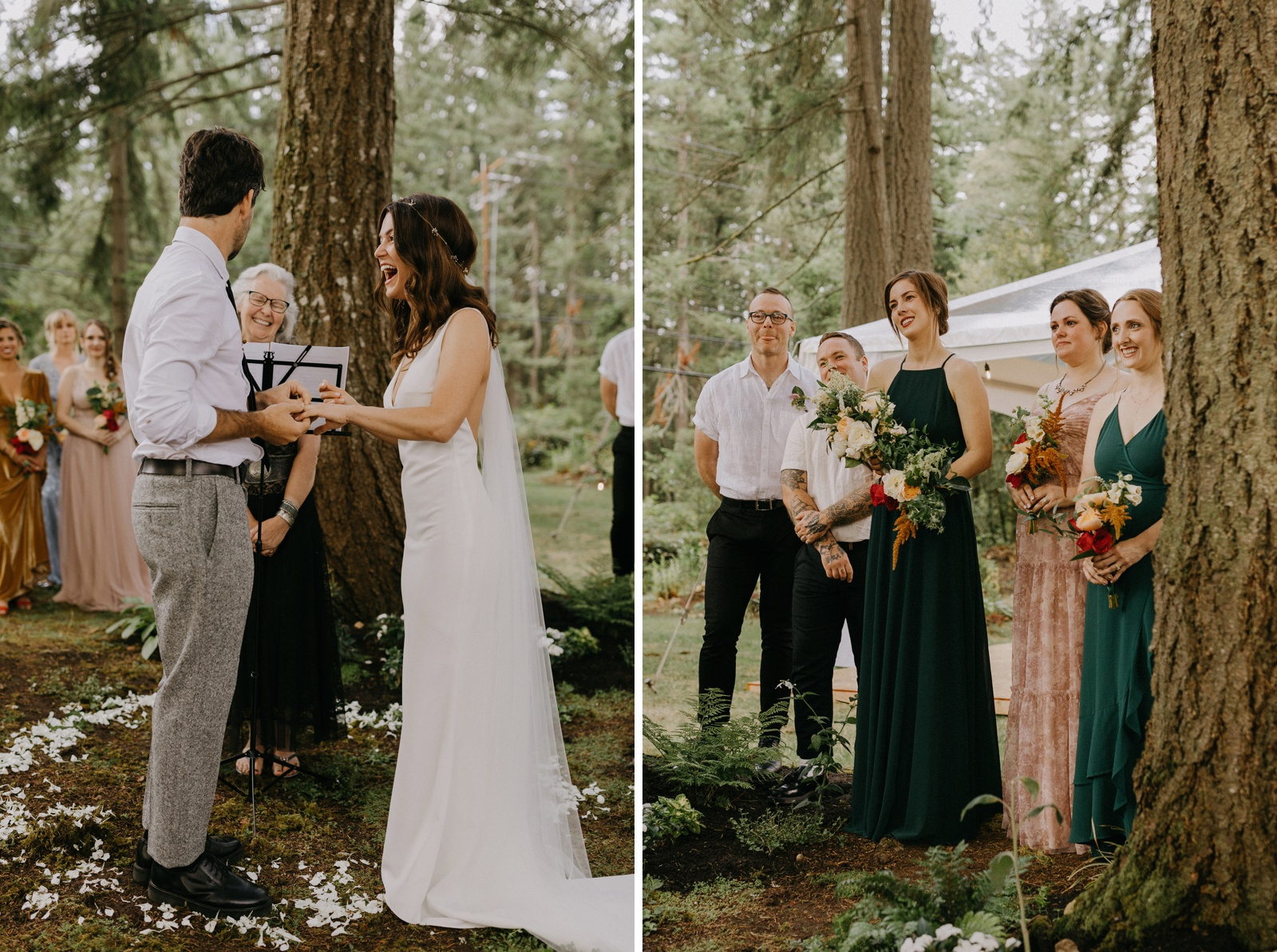 Matthew and Autumn Intimate Outdoor Backyard Wedding_0152