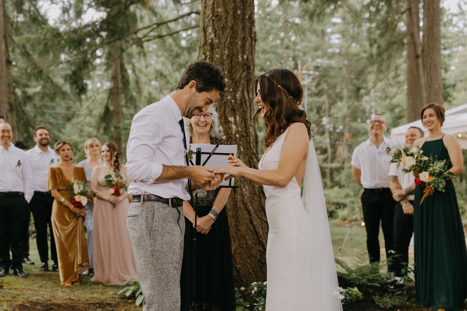 Matthew and Autumn Intimate Outdoor Backyard Wedding_0153