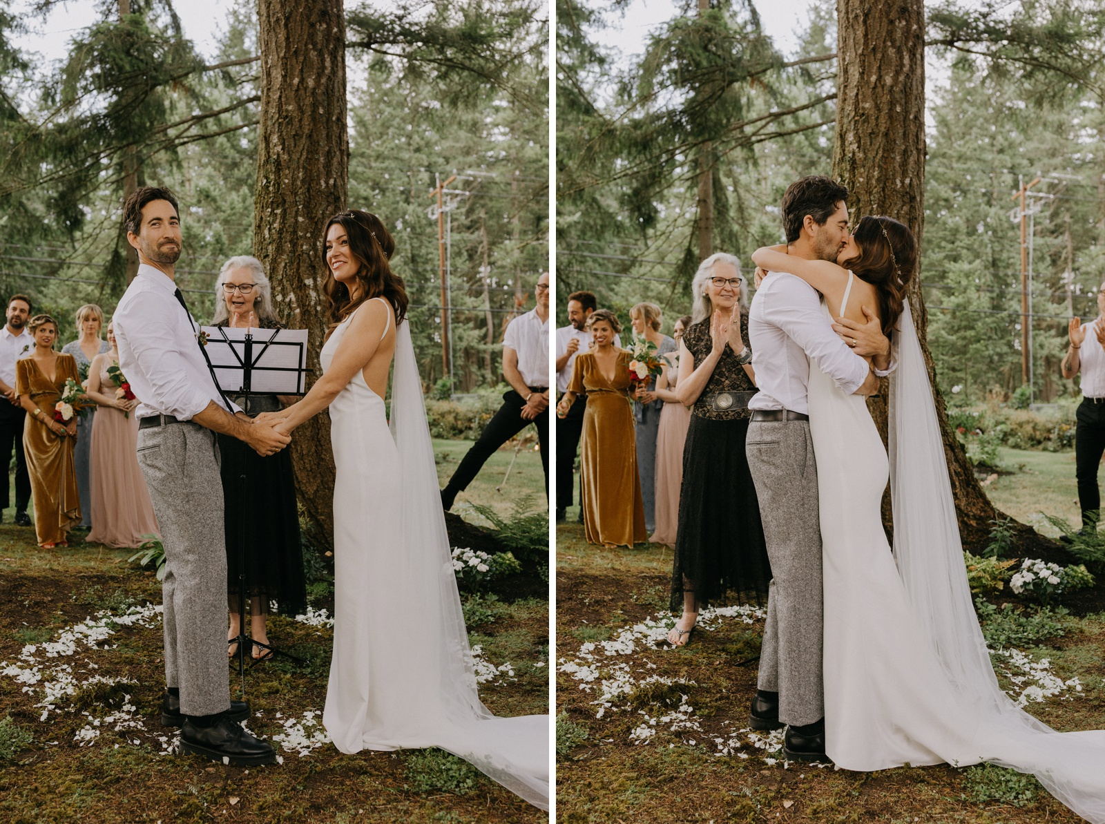 Matthew and Autumn Intimate Outdoor Backyard Wedding_0156