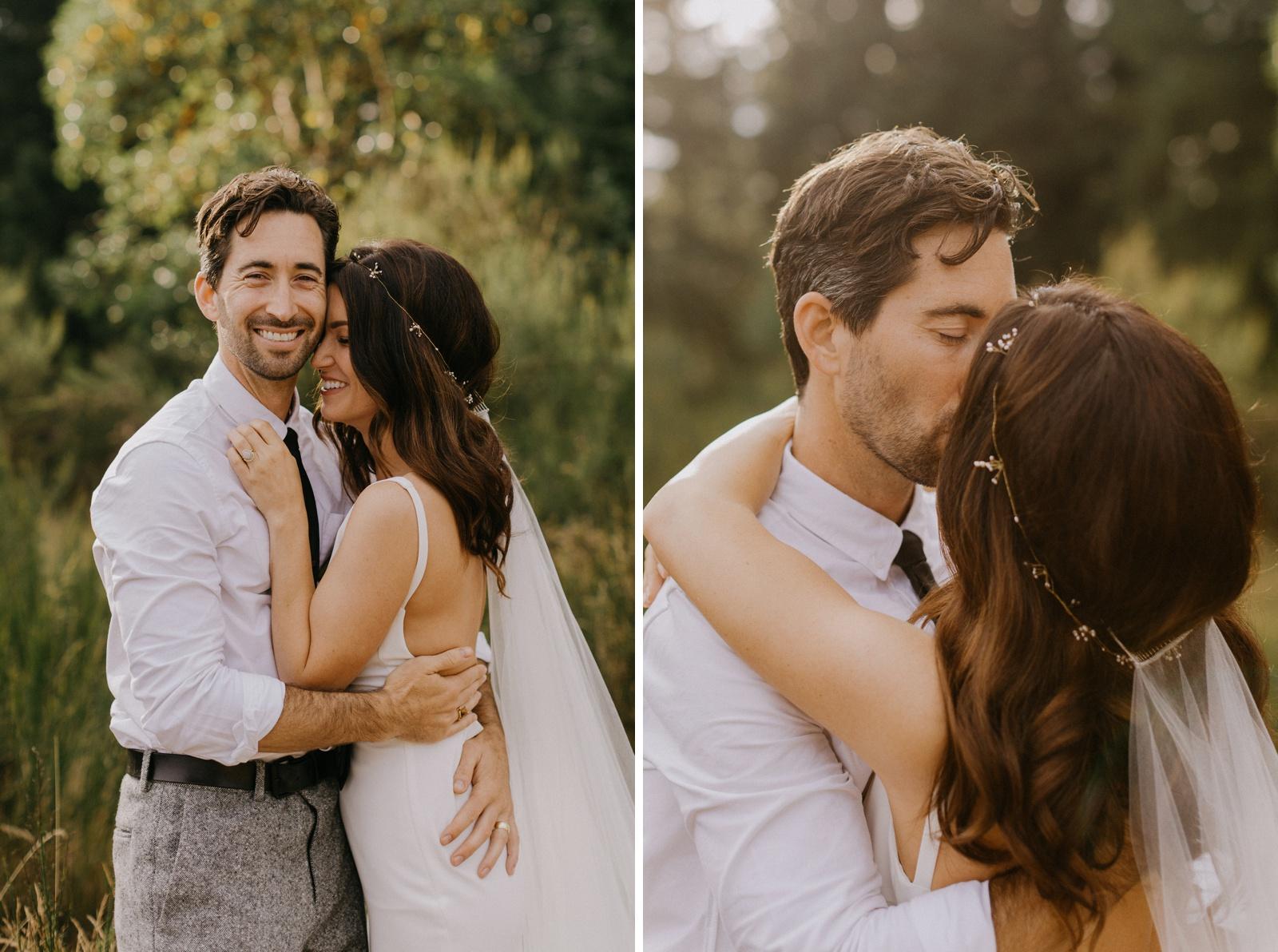 Matthew and Autumn Intimate Outdoor Backyard Wedding_0164