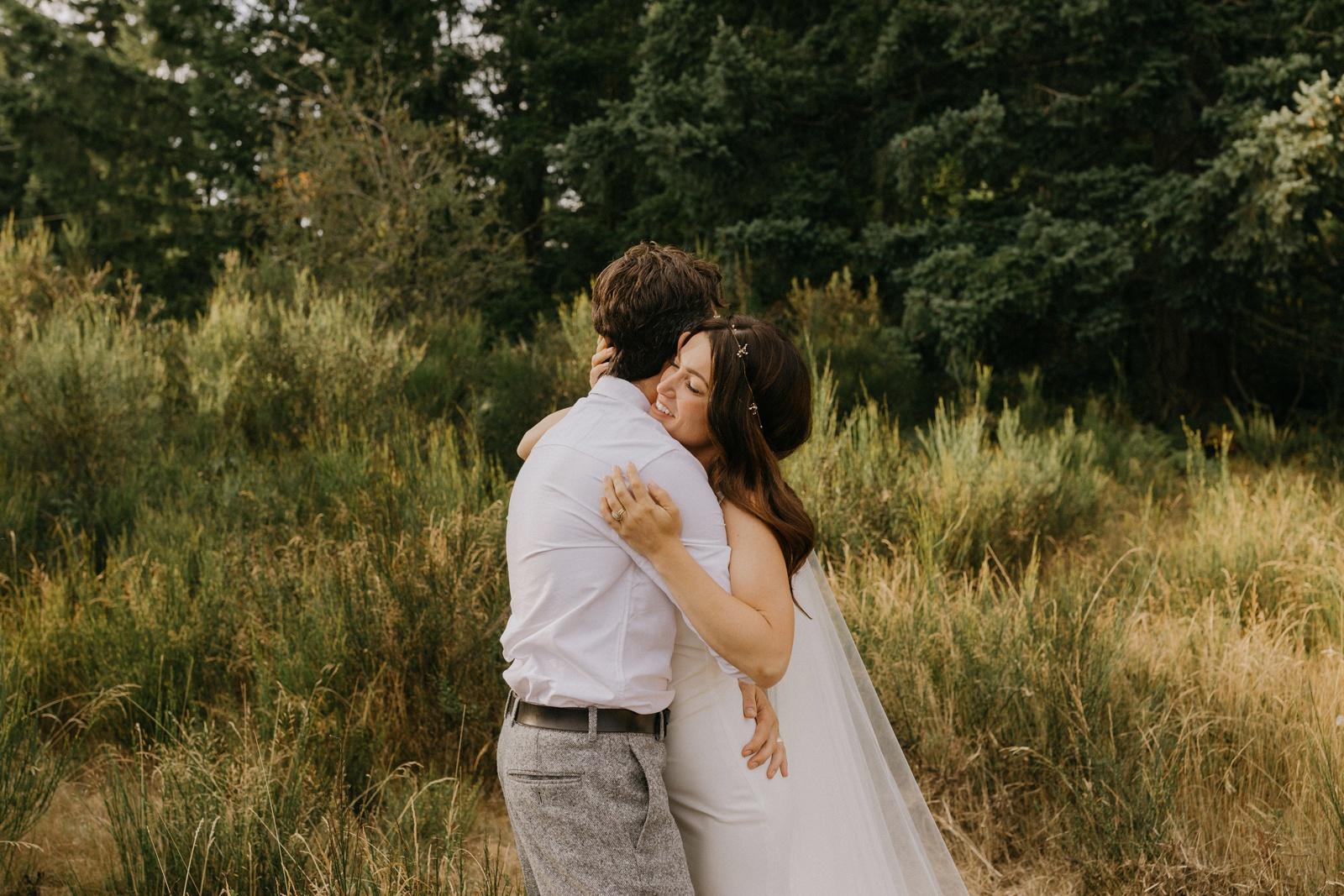Matthew and Autumn Intimate Outdoor Backyard Wedding_0165