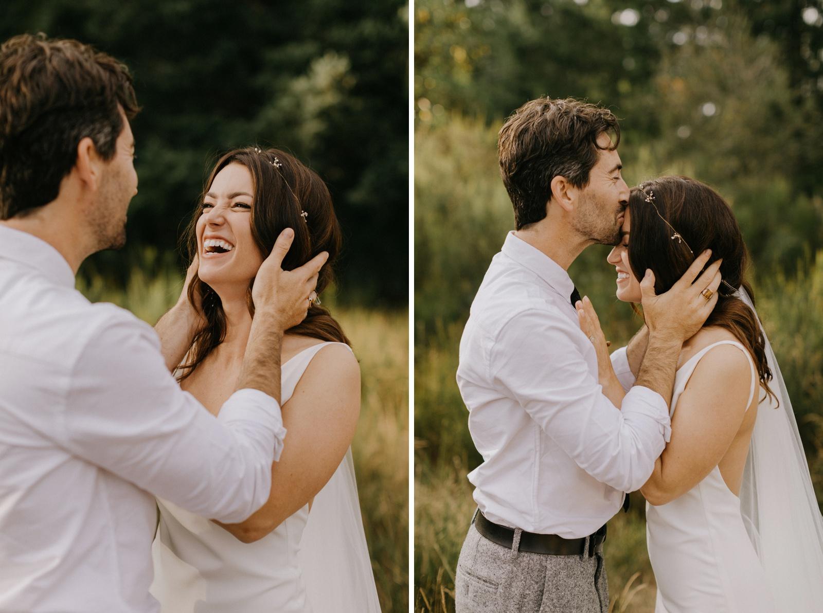 Matthew and Autumn Intimate Outdoor Backyard Wedding_0167