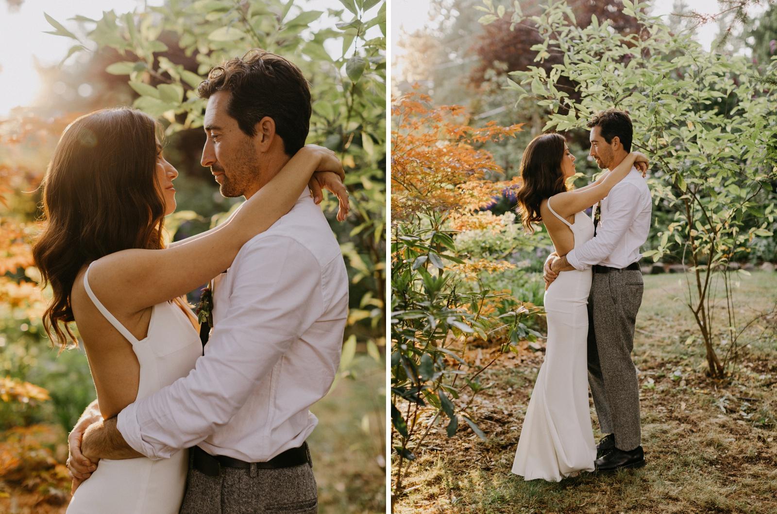 Matthew and Autumn Intimate Outdoor Backyard Wedding_0236
