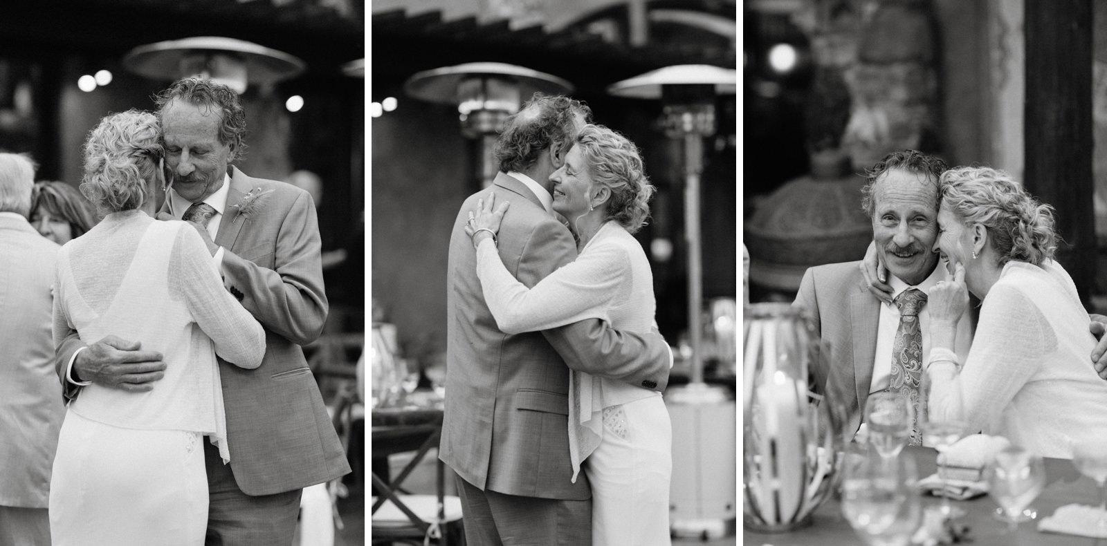 intimate carmel wedding